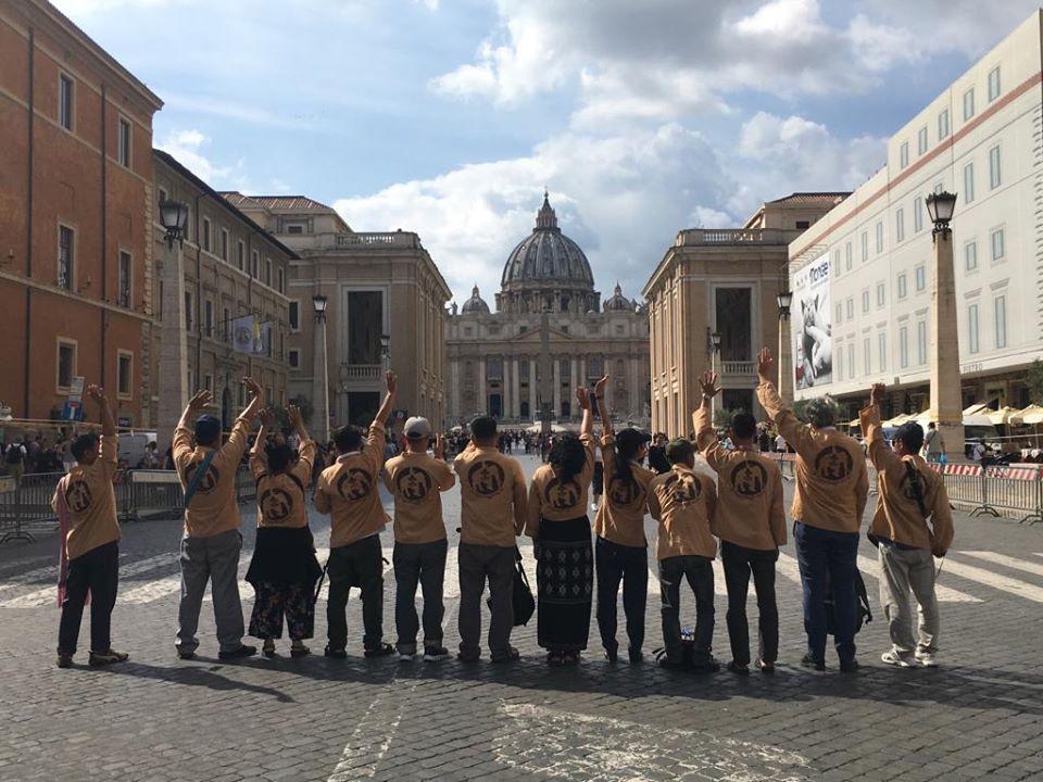 Les adieux à l'Italie