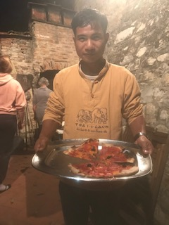 Une pizza bien méritée