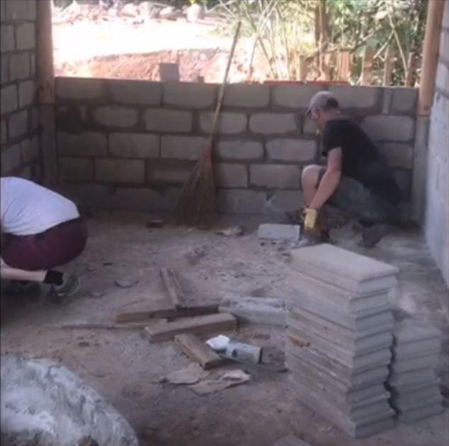 Construction du dispensaire - Maeomnya 2020