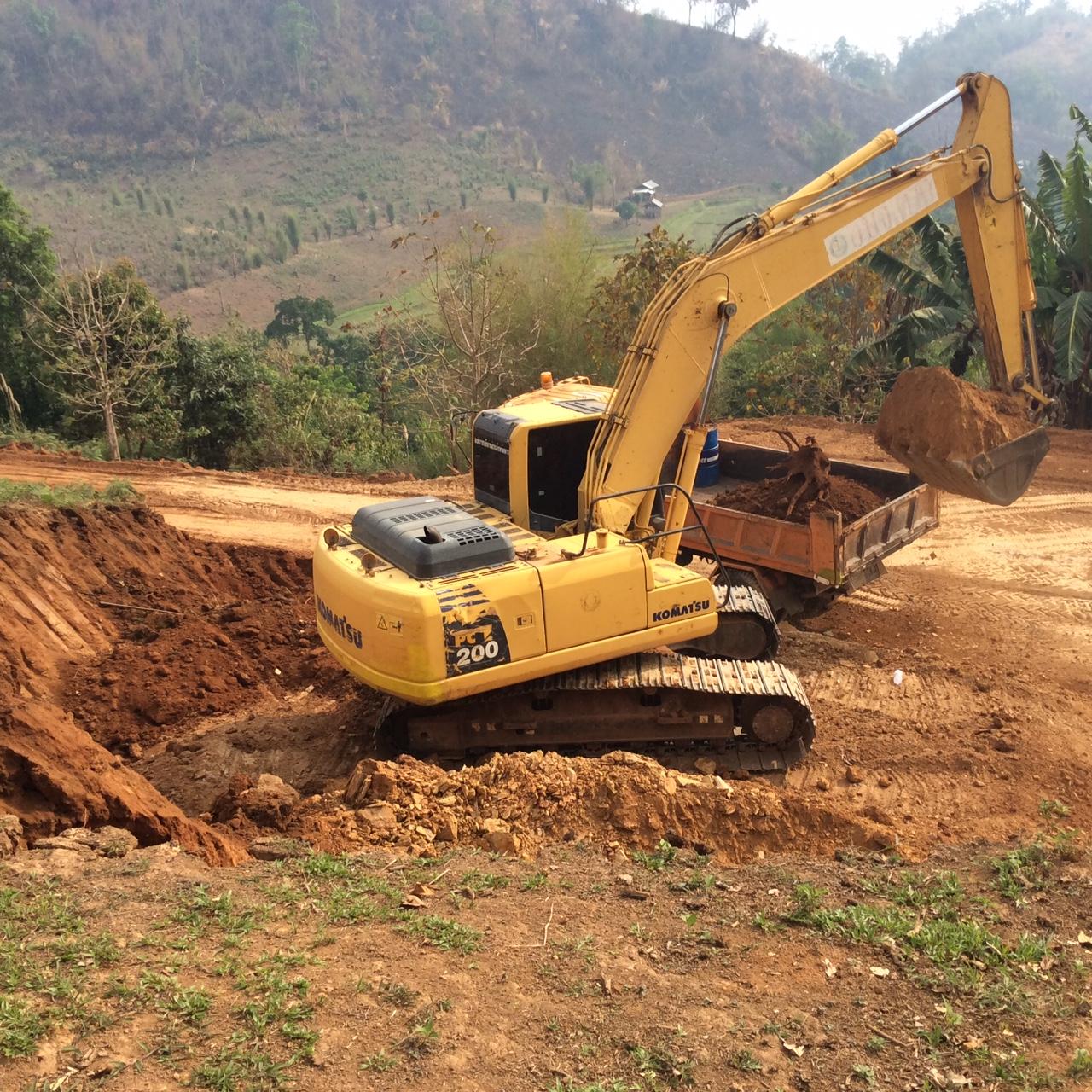 Construction du centre - Maepo 2018