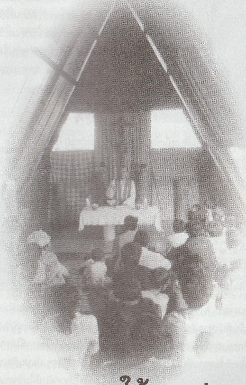 Messe célébrée par le Pado Quintard