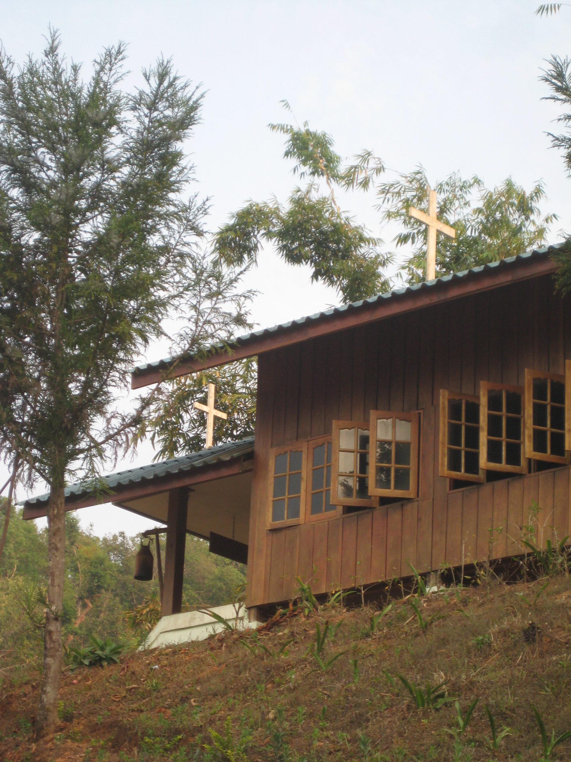 L'église de Maesapao aujourd'hui