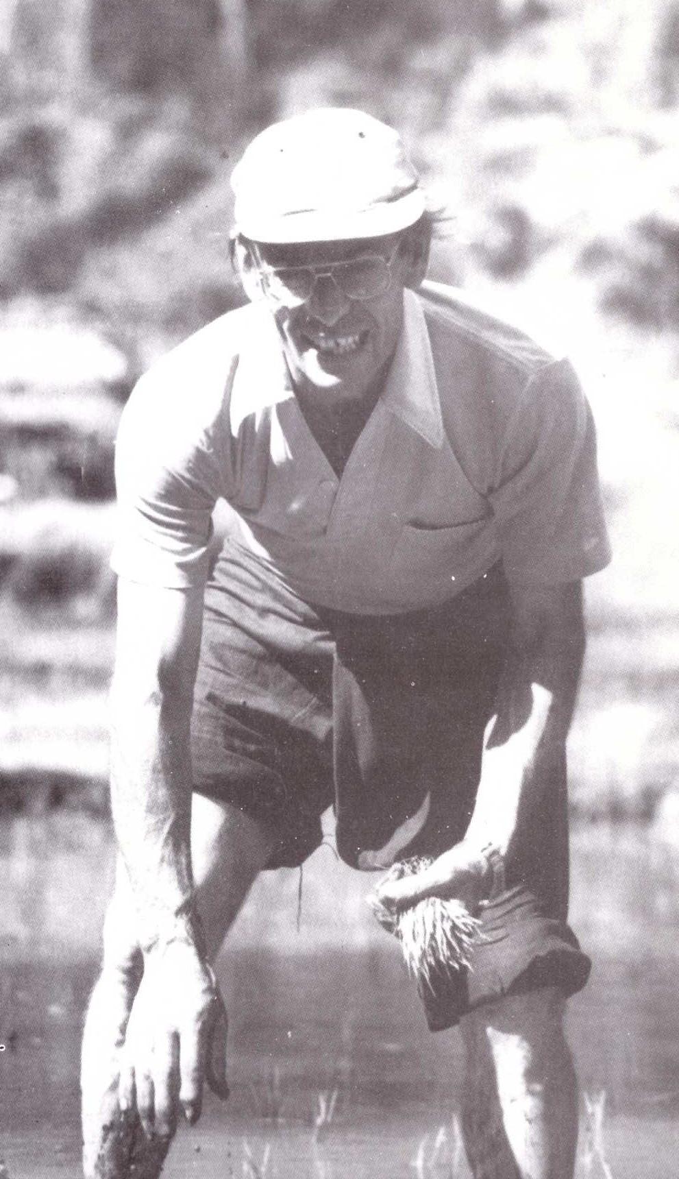 Pado Quintard dans la rizière
