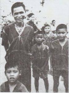 Évangélisation à Maewe