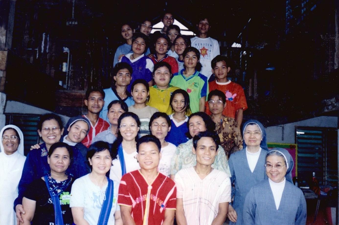 Professeurs karens - mai 2004