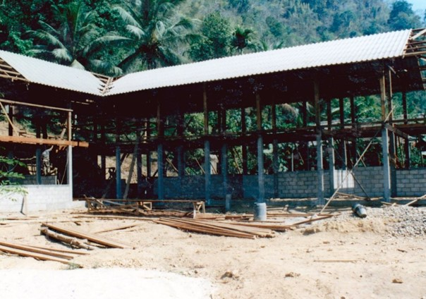 Travaux école Maewé