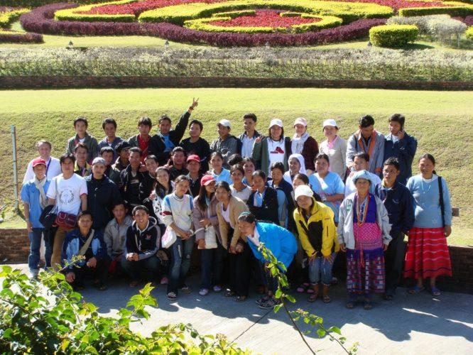voyage de la mission 2008
